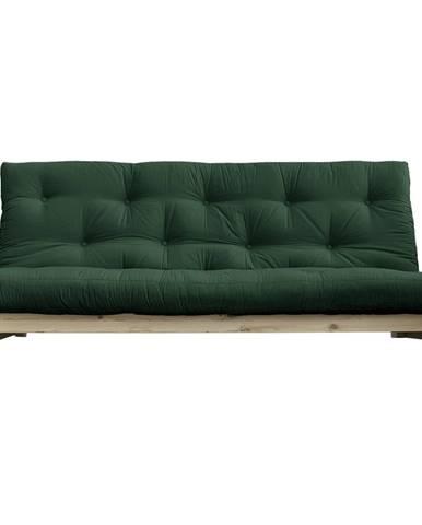 Variabilná pohovka Karup Design Fresh Natural Clear/Dark Green