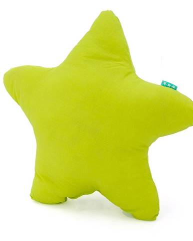 Zelený bavlnený vankúšik Happy Friday Basic Estrella Green, 50x50cm