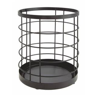 Čierny stojan na kuchynské pomôcky iDesign Austin