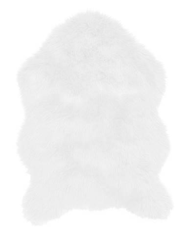 Biela umelá kožušina Tiseco Home Studio Sheepskin, 60 × 90 cm