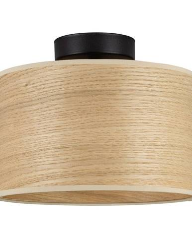 Stropné svietidlo s tienidlom z dreva dubu Sotto Luce TSURI S