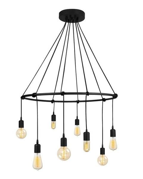 Opviq lights Čierne kovové závesné svietidlo Opviq lights Cleo