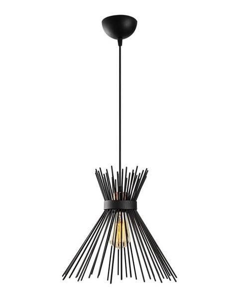 Opviq lights Čierne kovové závesné svietidlo Opviq lights Rosalia