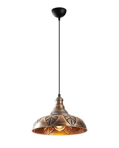 Kovové závesné svietidlo v medenej farbe Opviq lights Philip