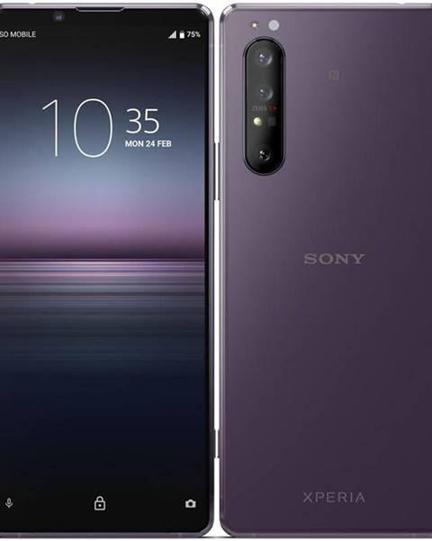 Sony Mobilný telefón Sony Xperia 1.II 5G fialový