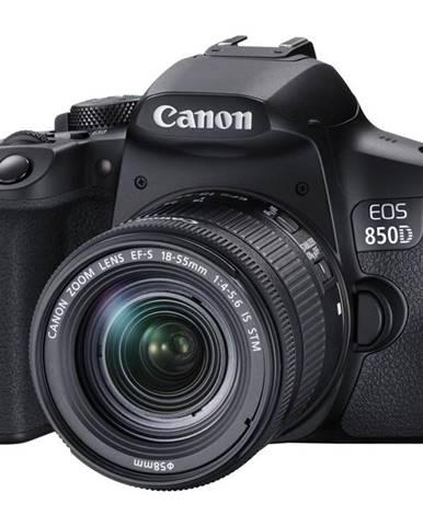 Digitálny fotoaparát Canon EOS 850D + 18-55 IS STM čierny