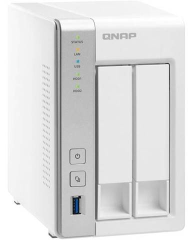 Sieťové úložište Qnap TS-231P biela 2xHDD, CPU 1,7GHz, 1GB, 2xGb/s,
