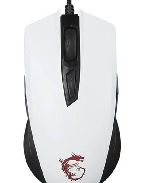 MSI Myš  MSI Clutch GM40 biela