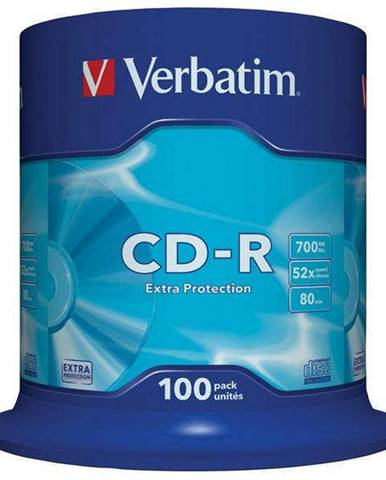 Disk Verbatim Extra Protection CD-R DL 700MB/80min, 52x, 100-cake