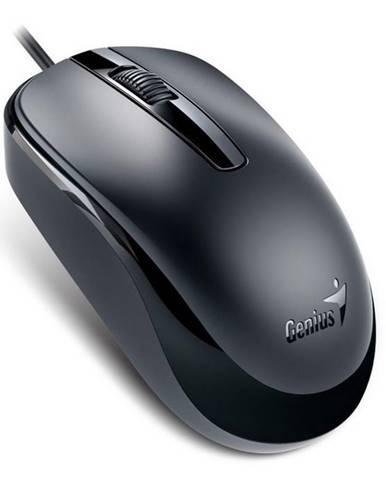Myš  Genius DX-120 čierna / optická / 3 tlačítka / 1200dpi