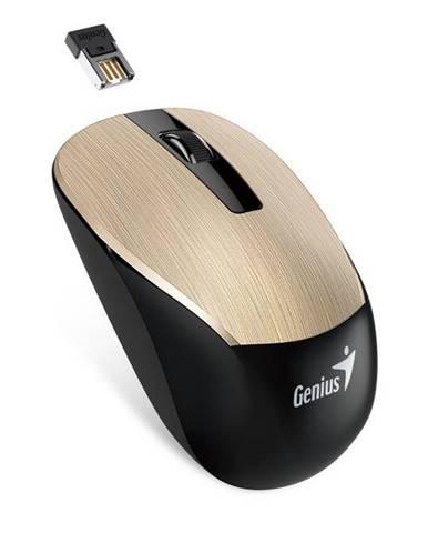 Myš  Genius NX-7015 zlatá / optická / 3 tlačítka / 1600dpi