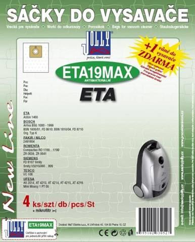 Sáčky pre vysávače Jolly MAX ETA 19