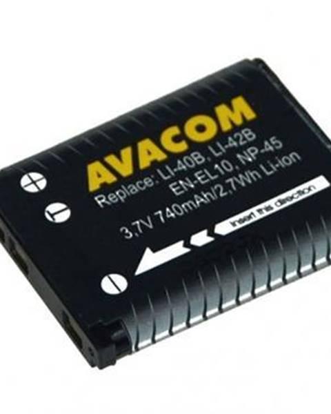 Avacom Batéria Avacom Olympus Li-40B/Li-42B/Fujifilm NP-45/Nikon EN-EL10