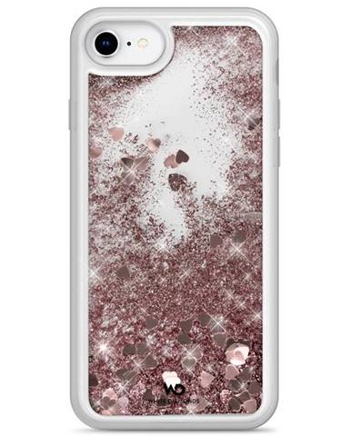 Kryt na mobil White Diamonds Sparkle Hearts na Apple iPhone SE