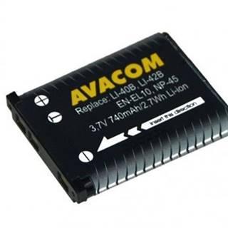 Batéria Avacom Olympus Li-40B/Li-42B/Fujifilm NP-45/Nikon EN-EL10