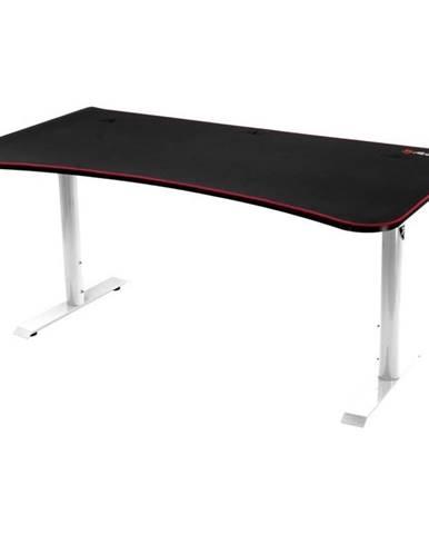 Herný stôl Arozzi Arena 160 x 82 cm čierny/biely