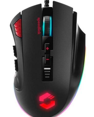 Myš  Speed Link Tarios RGB čierna