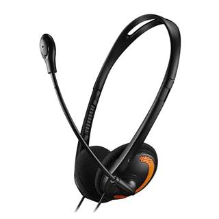 Headset  Canyon CNS-Chs01bo čierny/oranžový