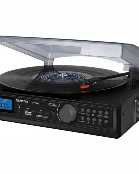 Sencor Gramofón Sencor STT 212U čierny