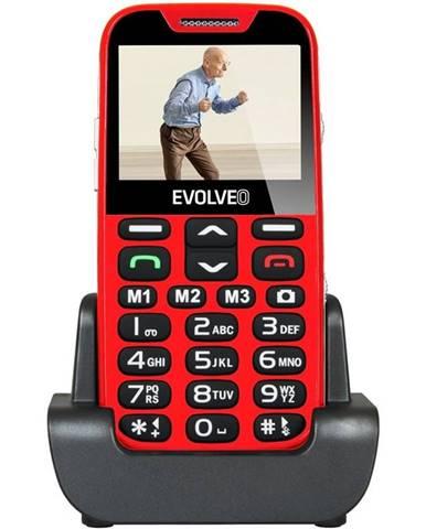 Mobilný telefón Evolveo Evolveo EasyPhone XD pro seniory červený