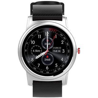 Inteligentné hodinky Carneo Prime Platinum strieborný