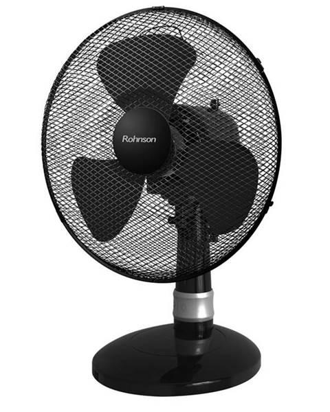 ROHNSON Ventilátor stolový Rohnson R-836 čierny