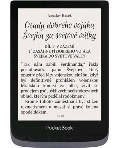 Čítačka kníh Pocket Book 632 Touch HD 3 - Metallic Grey