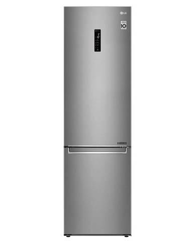 Kombinácia chladničky s mrazničkou LG Gbb72sadfn nerez