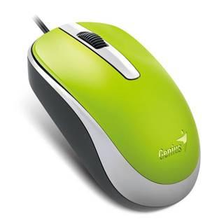 Myš  Genius DX-120 zelená / optická / 3 tlačítka / 1200dpi