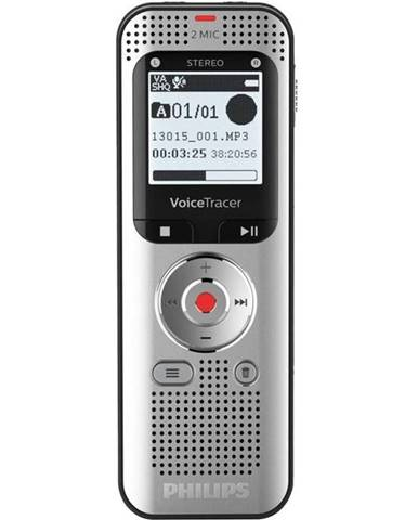 Diktafón Philips DVT2050 strieborn