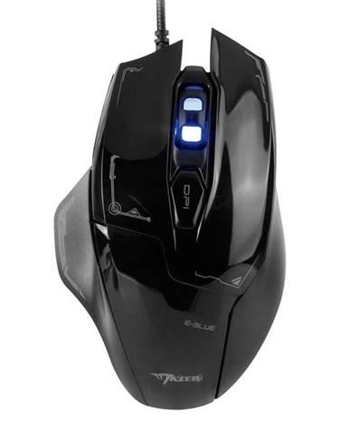 Myš  E-Blue Mazer čierna / optická / 6 tlačítek / 2500dpi
