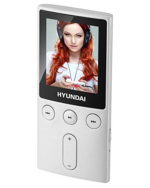Hyundai MP3 prehrávač Hyundai MPC 501 GB8 FM S strieborn
