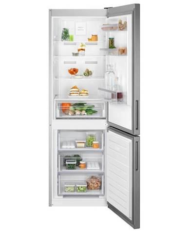 Kombinácia chladničky s mrazničkou Electrolux Lnt5mf32u0 nerez