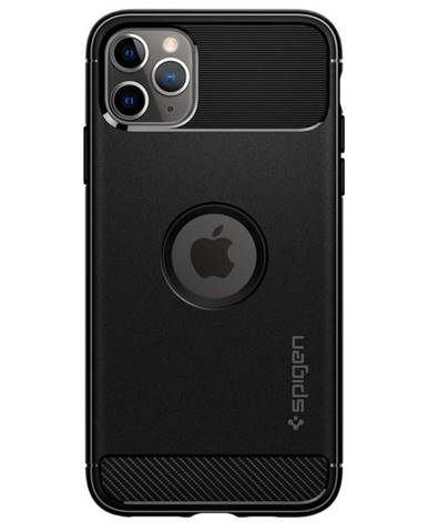 Kryt na mobil Spigen Rugged Armor na Apple iPhone 11 na Max čierny