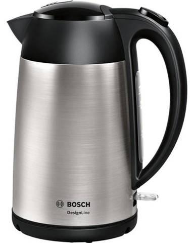 Rýchlovarná kanvica Bosch DesignLine Twk3p420 čierna/nerez