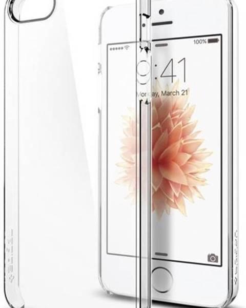 Spigen Kryt na mobil Spigen Thin Fit Apple iPhone 5/5s/SE priehľadný