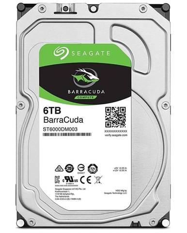 """Pevný disk 3,5"""" Seagate Barracuda 6TB"""
