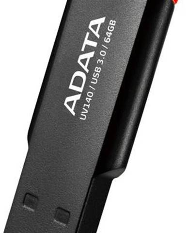 USB flash disk Adata UV140 64GB červený