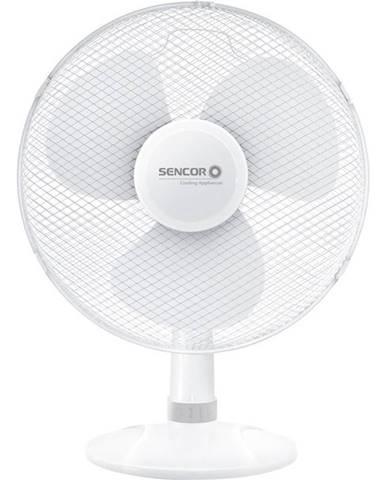 Ventilátor stolový Sencor SFE 4037WH biely