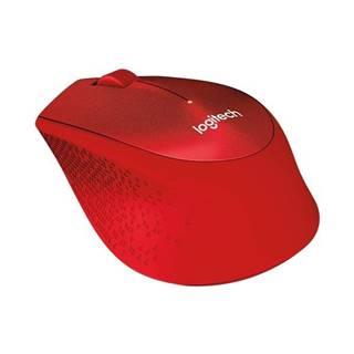 Myš  Logitech Wireless MoM330 Silent Plus červená / optická / 3