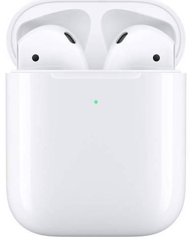 Slúchadlá Apple AirPods, bezdrôtové nabíjanie