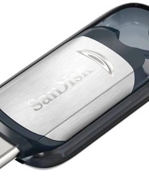 Sandisk USB flash disk Sandisk Ultra 128GB USB-C čierny/strieborný