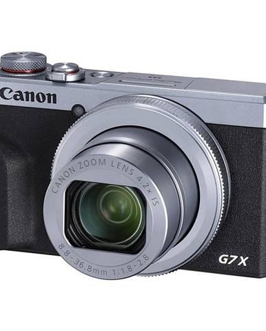 Digitálny fotoaparát Canon PowerShot G7X Mark III strieborn