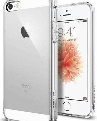 Kryt na mobil Spigen Ultra Hybrid Apple iPhone 5/5s/SE priehľadný