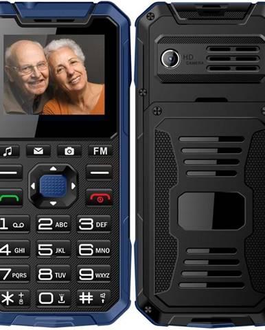 Mobilný telefón Cube 1 S400 Senior Dual SIM modrý