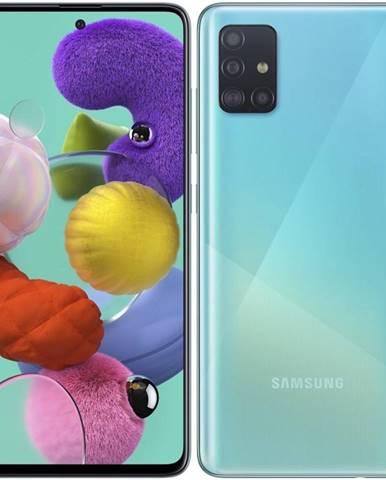 Mobilný telefón Samsung Galaxy A51 modrý