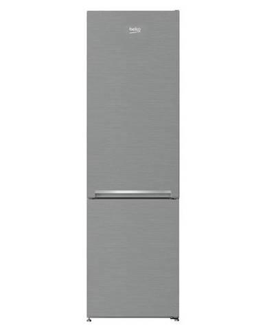 Kombinácia chladničky s mrazničkou Beko Csa270k30xpn Titanium