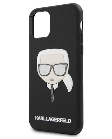 Kryt na mobil Karl Lagerfeld Embossed Glitter na Apple iPhone 11