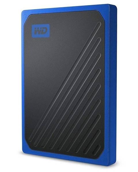 Western Digital SSD externý Western Digital My Passport Go 500GB modrý