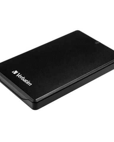 """Box na HDD Verbatim pro 2,5"""" HDD Sata, USB 3.0 čierny"""